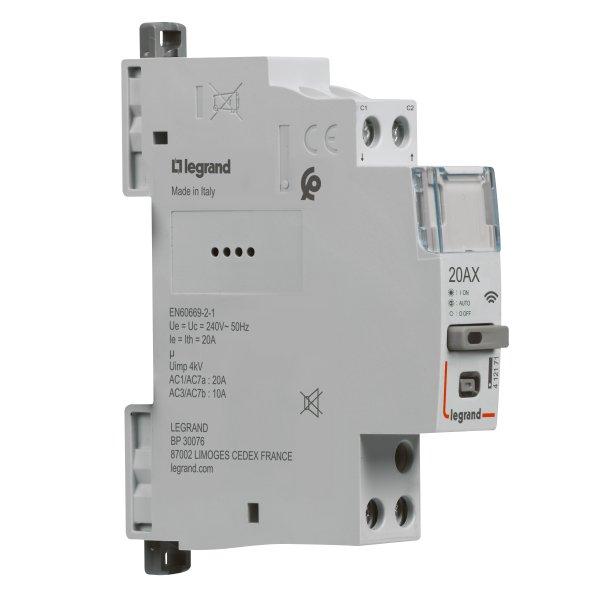 Legrand CX³ Smartes Schütz 20A, 1-polig, 230VAC, 1TE, CX³ with Netatmo