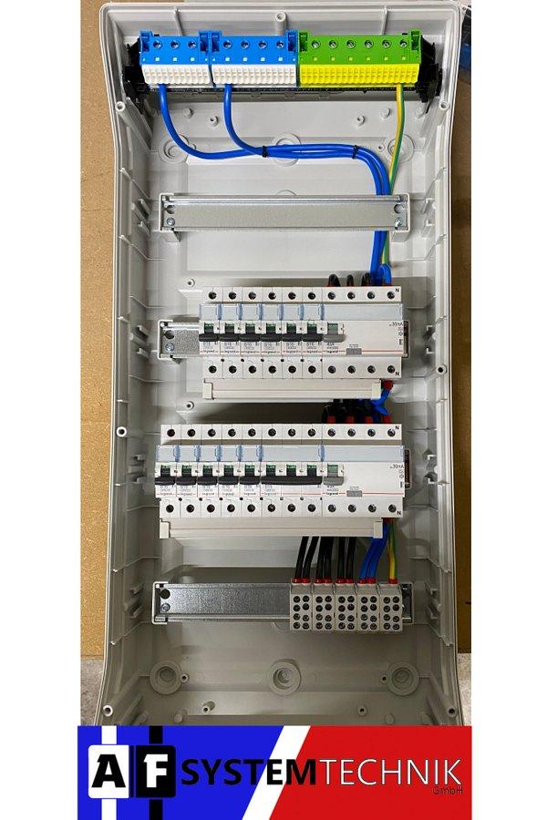 Hager VE412DN Feuchtraum Unterverteilung 4-reihig NEU - Auswahlmöglichkeiten