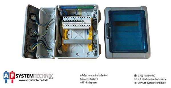 Legrand Plexo Garagenverteiler 2-reihig IP65 Aufputz Feuchtraum-Verteiler