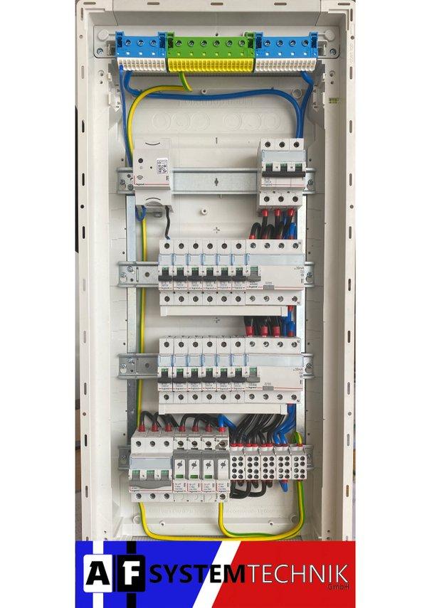 Legrand Unterverteiler 4-reihig mit Smart Home Gateway