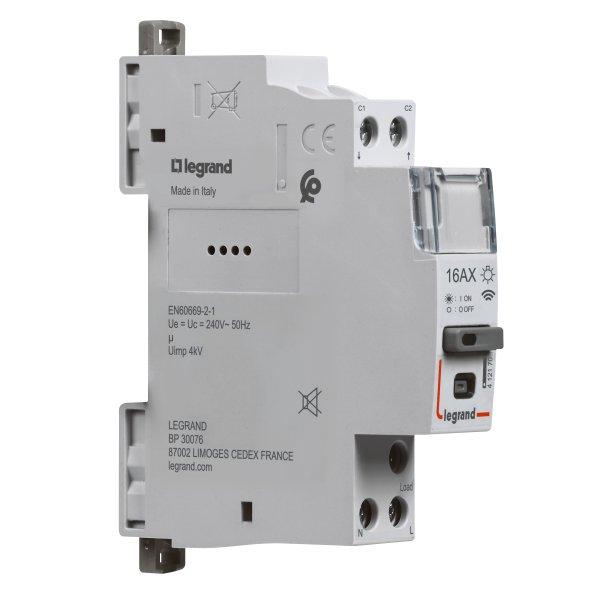 Legrand CX³ Smarter Fernschalter 16A, 1-polig, 230VAC, 1TE, CX³ with Netatmo